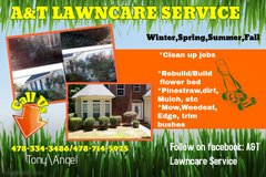 A&T LawnCare Service in Warner Robins, Georgia
