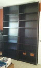 Ikea bookshelves in St. Charles, Illinois