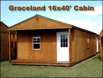 16x40 Cabin (Man-Cave/She-Shed) for Sale in Moody AFB, Georgia
