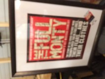 FULL MONTY Framed Autographed Cast Poster in Houston, Texas