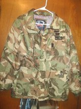 camo jacket in Fort Campbell, Kentucky