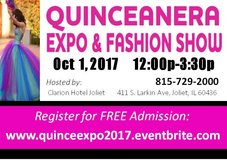 QUINCE/ FASHION SHOW in New Lenox, Illinois