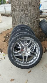 "22"" rims in St. Charles, Illinois"