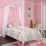 Princess twin Carriage bed with mattress in Stuttgart, GE
