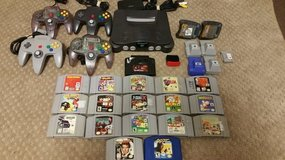 Nintendo 64 with a ton of games and accessories in Stuttgart, GE