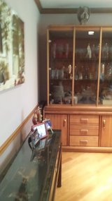 DINING SET/TABLE CHAIRS/CHINA CABINET in Tinley Park, Illinois