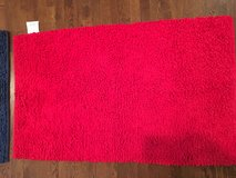 "Kids Small Area Rug - Bright Red Thick Loop 30"" x 50"" in Lockport, Illinois"