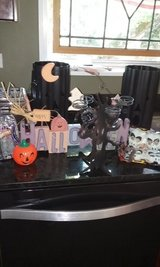 Halloween collectiable's tin pumpkins in Algonquin, Illinois