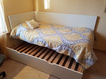 trundle bed with mattresses in El Paso, Texas