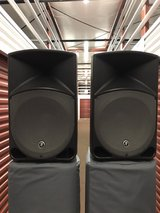 Mackie Thump 15in Powered Loud Speaker Monitors w/Gator Speaker Bags in Orland Park, Illinois