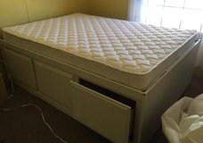 Captain bed with like new mattress - Full size in Ruidoso, New Mexico
