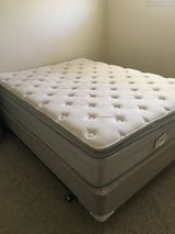 Queen Size Mattress & Bed Frame in Alamogordo, New Mexico