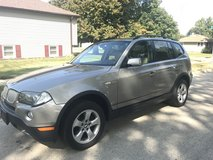 2007 BMW X3 - ALL WHEEL DRIVE !! in DeKalb, Illinois
