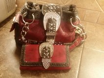 Bling purse and wallet set in Baytown, Texas