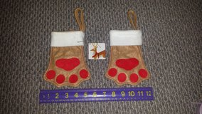 Pet Holiday Stockings or Ornaments (2 available) in Westmont, Illinois