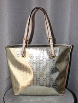 Gold Tone MICHAEL KORS Large Purse/ Bag/ Tote in Okinawa, Japan