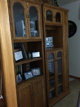Oak cabinets (2) in Orland Park, Illinois