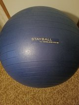 Gold gym exercise ball in Warner Robins, Georgia