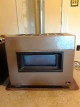 Natural gas heating stove in Fort Leonard Wood, Missouri