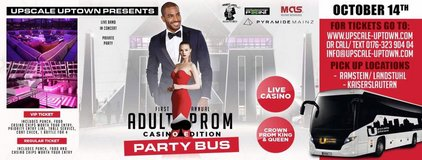 """Adult Prom Party Bus """"Casino Edition"""" in Ramstein, Germany"""
