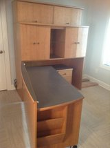 NICE QUALITY FIVE (5) PIECE ROLLOUT DESK SET - MUST GO SOON! in Cherry Point, North Carolina