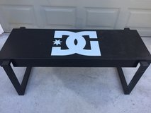 DC bench in Camp Pendleton, California