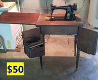 ITEMS THAT NEED TO GO...HOME DECOR, SEWING MACHINE, SHELF...  2 of 2 in Cherry Point, North Carolina