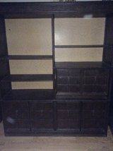 Bookshelf that has 3 big divided drawer asking $85.00  OBO. in Camp Pendleton, California