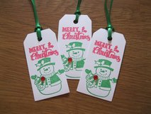 New Christmas Gift Tags Handmade By Me 9 Available in Ramstein, Germany