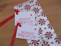 New 9 Christmas Treat Bags With Tags Handmade By Me in Ramstein, Germany