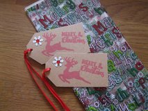 New Christmas Treat Bags With Tags Handmade By Me 15 Available in Ramstein, Germany