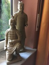 Antique Terra-cotta Chinese Soldiers from Tibet in Ramstein, Germany