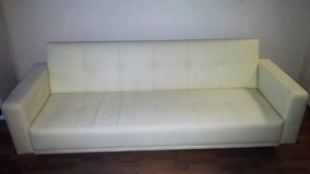 Sofabed 3-person Off-White in Wiesbaden, GE