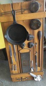 Vintage wall decor in St. Charles, Illinois