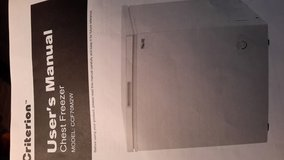 7 cubic foot CHEST FREEZER in Plainfield, Illinois
