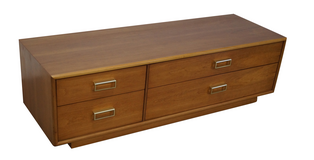 Kipp Stewart Suncoast 4 Drawer Low Chest by Drexel in Kingwood, Texas