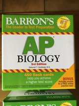 BARRON'S AP EXAM FLASH CARDS, excellent condition in Baumholder, GE
