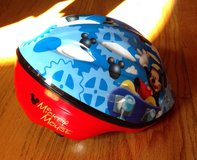Toddler Mickey Mouse bicycle/bike helmet (For 3- 5yr olds) in Byron, Georgia