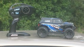 Traxxas truck in Fort Polk, Louisiana