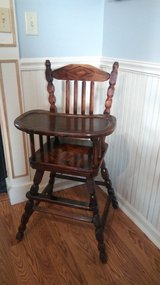 high chair in good shape in St. Charles, Illinois
