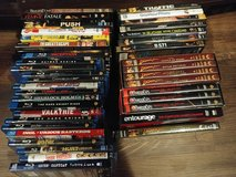 Lots of DVDs and Blu-Rays in St. Charles, Illinois