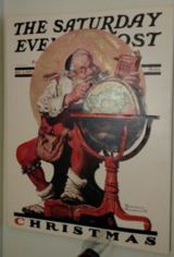 Norman Rockwell Christmas Cover Collection in Vista, California