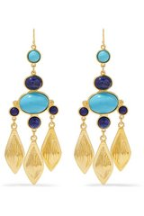 Gold-tone stone earrings Retail $225 in Ramstein, Germany
