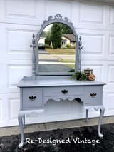 Beautiful vanity and mirror in Naperville, Illinois