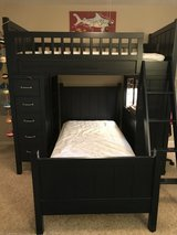 Pottery Barn Kids navy camp bunk system in CyFair, Texas