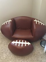 Football Chair & Ottoman in Tomball, Texas