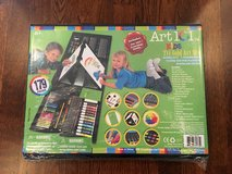 TONS OF ART SUPPLIES! - NEW  179-Piece Double Sided Trifold Easel Art Set in Aurora, Illinois