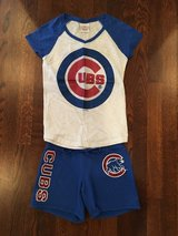 Girls Chicago CUBS Shorts Outfit from Justice - Size 10 in Bolingbrook, Illinois