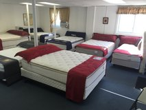 Mattress, bed frames, box springs, sheets, head boards, Adjustable bases new in Watertown, New York