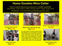 Home Goodies Wine Cellar Collection in Spangdahlem, Germany